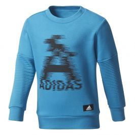 adidas Chlapčenská mikina LB TR SWEAT - modrá