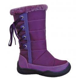 Protetika Dievčenské snehule Selye - fialové