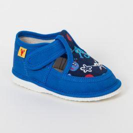 RAK Chlapčenské papučky - modré