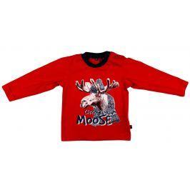 MMDadak Chlapčenské tričko Los - červené