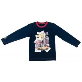 MMDadak Chlapčenské tričko Metropolitan - tmavo modré