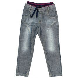 MMDadak Chlapčenské nohavice Metropolitan - šedé