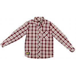 MMDadak Chlapčenská košeľa Metropolitan - červená