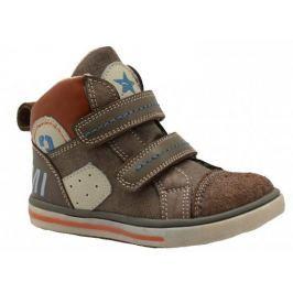 Bugga Chlapčenské členkové topánky - hnedé