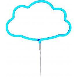 Little Lovely Company Neónové svetielko, mráčik modrý