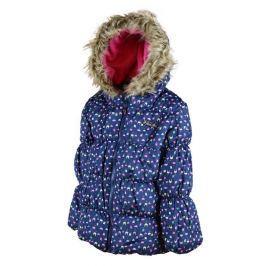 PIDILIDI Dievčenská zimná bunda Puffy - modrá