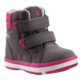 Reima Dievčenské členkové topánky Patter - šedé
