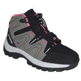 LOAP Dievčenské outdoorové topánky Tarby - šedo-čierne