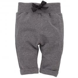 Pinokio Dievčenské nohavice s mašličkou Magic - šedé