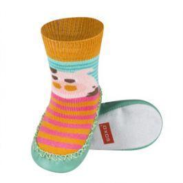 SOXO® Chlapčenské ponožky s podrážkou Prasiatko - farebné