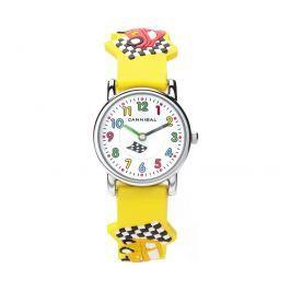 Cannibal Chlapčenské hodinky s autami - žlté