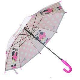 E plus M Dievčenské dáždnik Minnie - biely