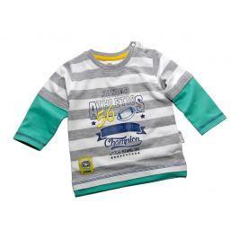 Gelati Chlapčenské tričko - šedo-zelené