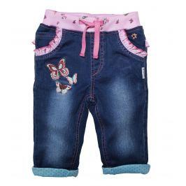 Gelati Dievčenské nohavice s motýľom - modré