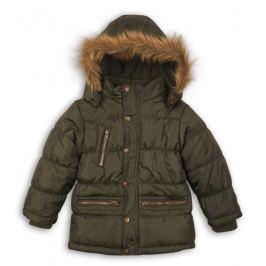 Minoti Chlapčenský prešívaný kabát Mono - khaki