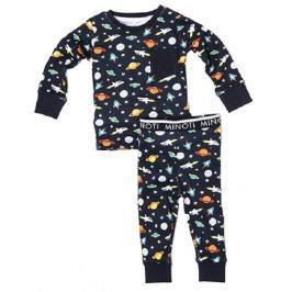 Minoti Chlapčenské pyžamo Vesmír - modré