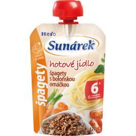 Sunárek Špagety s boloňskou omáčkou 2x120g