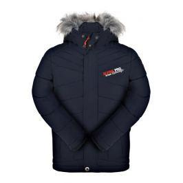 ALPINE PRO Chlapčenská zimná bunda Icybo - modrá