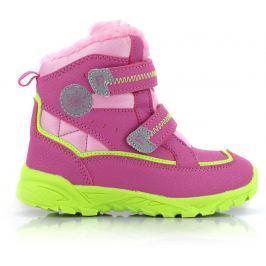 ALPINE PRO Dievčenské zimné topánky Kibby - ružová