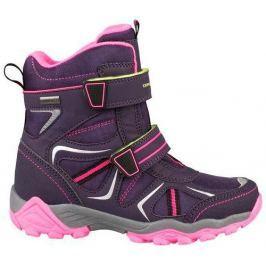 ALPINE PRO Dievčenské zimné topánky Hayley - fialové