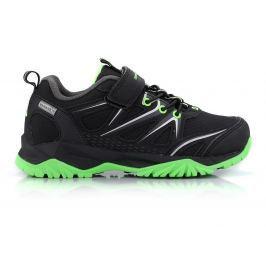 ALPINE PRO Chlapčenské outdoorové topánky Talish - čierne