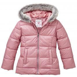 Nickel sportswear Dievčenská zateplená bunda - ružová