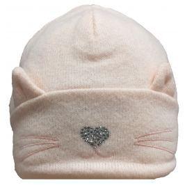 Broel Dievčenská čiapka Chloe - ružová