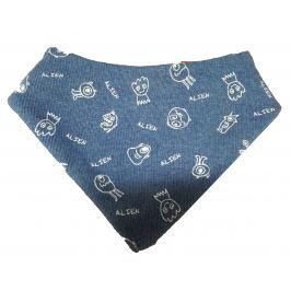 Broel Chlapčenská šatka Bobby - modrý