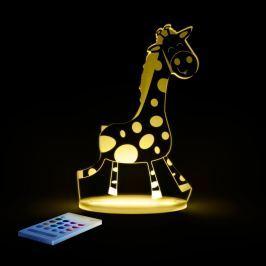 Aloka Nočné svetielko žirafa + ovládač pre voľbu farieb