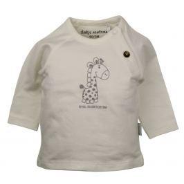 Dirkje Detské tričko so žirafou - béžové