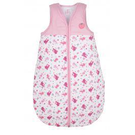 G-mini Dievčenské spací vak Mačička - ružovo-biely
