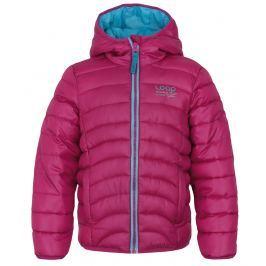 LOAP Dievčenská prešívaná bunda Udatel - ružová