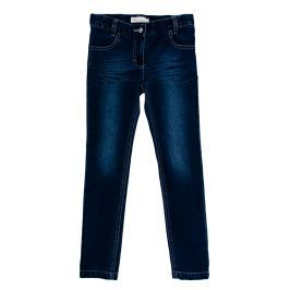 MMDadak Dievčenské nohavice Paríž - tmavo modré