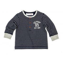 Minoti Chlapčenské pruhované tričko Arctic - modré