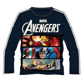 Disney by Arnetta Chlapčenské tričko Avengers - tmavo modré