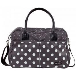 Bebe-jou Luxusná prebaľovacia taška Grey Dots