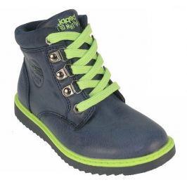 Beppi Chlapčenské členkové topánky - modré