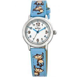 Bentime Chlapčenské hodinky s opicami - modré