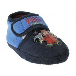 Beppi Chlapčenské papučky s kozmonautom - modré