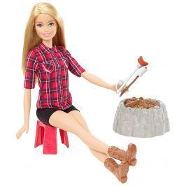 MATTEL Barbie Bábika pri ohni blondínka
