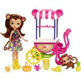 MATTEL Enchantimals Herná súprava na kolesách Fruit Cart