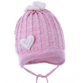 Pupill Dievčenská čiapka Liv - ružová