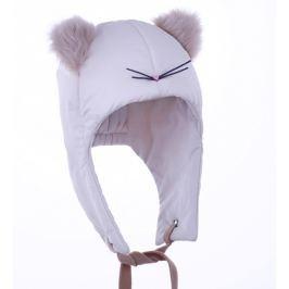 Pupill Dievčenská čiapka Cat - svetlo béžová