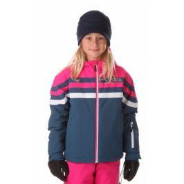 Nordblanc Dievčenská zimná bunda Peppy - modro-ružová