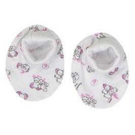 Mamatti Dievčenské ponožky / capáčky Koala - biele