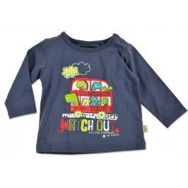 Blue Seven Chlapčenské tričko s dinosaurami - modré
