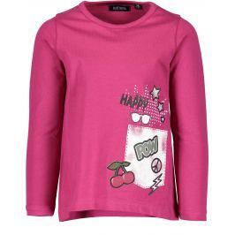 Blue Seven Dievčenské tričko s potlačou - ružové