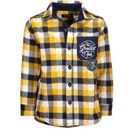 Blue Seven Chlapčenská kockovaná košeľa - farebná