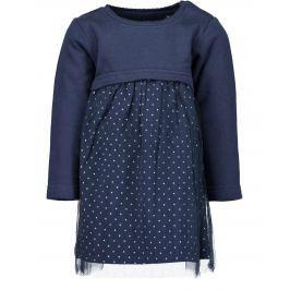 Blue Seven Dievčenské šaty - modré