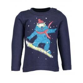 Blue Seven Chlapčenské tričko Monster - modré